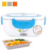 VOVOIR 2 in1 Electric Lunch Box Food Heater