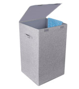 CLEEBOURG Large Laundry Baskets Foldable Laundry Hamper with Lid