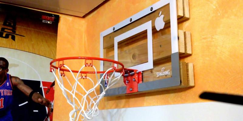 Review of Spalding Junior NBA Slam Jam Board Basketball System