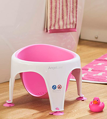 Review of Angelcare Baby Bath Seat Soft Touch
