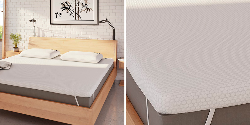 Review of Panda The Topper Gel Infused Memory Foam (Hydro-Foam) Bamboo Mattress Topper