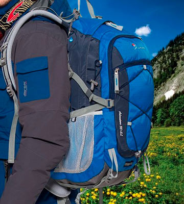 Review of MOUNTAINTOP LX5832 Hiking Backpack