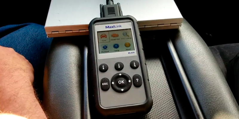 Review of Autel MaxiLink (ML629) OBD2 Scanner for ABS/SRS/Engine and Transmission