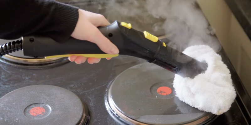 Karcher SC2 EasyFix Steam Cleaner in the use