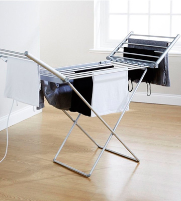 Review of AMOS Electric Heated Clothes Laundry Drying Horse Rack