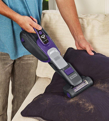 Review of BLACK + DECKER DVJ325BFSP-GB Lithium-Ion Pet Hand Vacuum