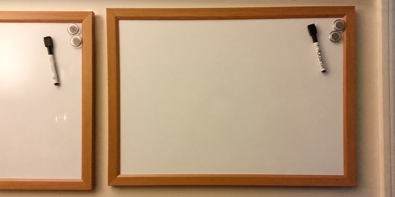 Review of Quickdraw WHT-MAG-600x400 Heavy Duty Magnetic Whiteboard with Wooden Frame