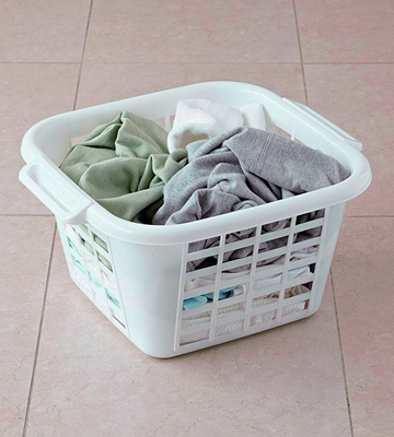 Review of Addis Square Laundry Basket Plastic, Ventilation Slots