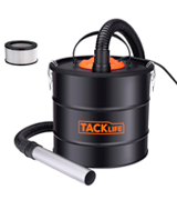 TACKLIFE Ash Vacuum 800W Ash Vacuum Cleaner - Powerful Ash Suction and Blowing