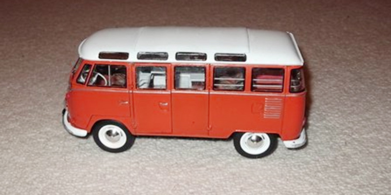 Revell 07399 VW Samba Bus Model Kit in the use