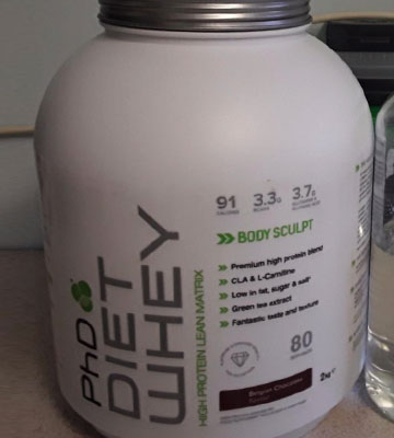 Review of PhD Nutrition Diet Vanilla Creme Whey Protein Powder
