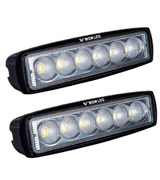 WOWLED 1000012 2 Pcs 18W CREE LED Flood Lamp