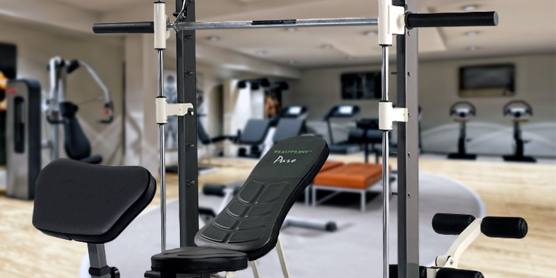 Review of Tunturi 14TCS60400 Pure Compact Smith Machine and Weight Bench