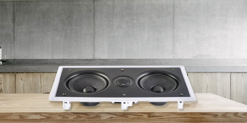 "Review of Electrovision e-audio Dual 6.5"" 2 Way In-Wall Speaker"