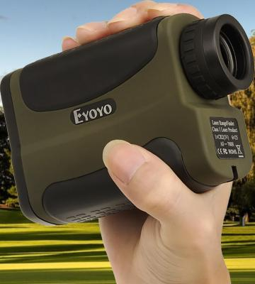 Review of Eyoyo Waterproof Golf RangeFinder