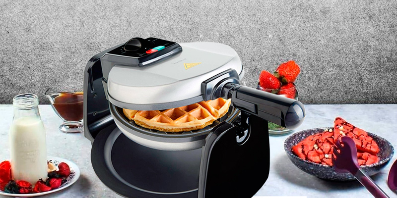 Review of VonShef Rotating Iron Non-Stick Plates Waffle Maker