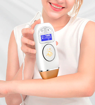 Review of INLINS IPL Hair Removal Device for Women Men, 400000 Flashes Permanent Hair Removal Machine