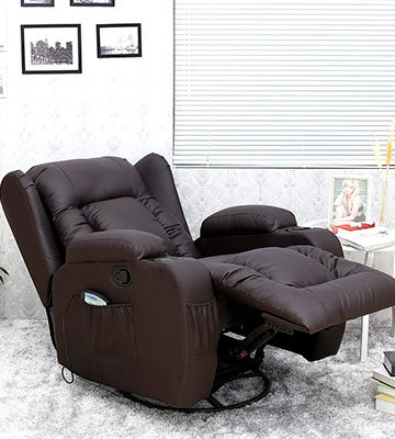 Review of More4Homes (tm) Caesar 10 in 1 Winged Recliner Chair