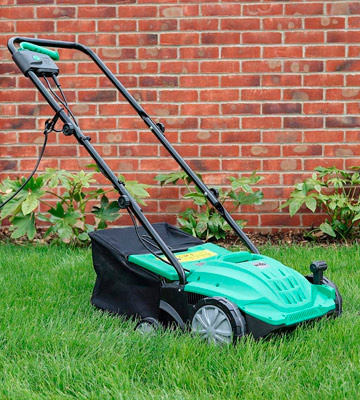 Review of Wido Electric 2 In 1 Scarifier and Lawn Rake Moss Remover