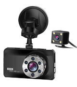 ORSKEY 1080P Car Camera with Night Vision and Motion Detection