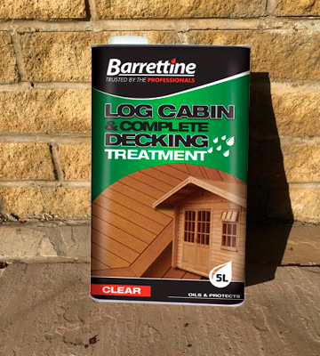 Review of Barrettine LCDT005 Log Cabin Treatment