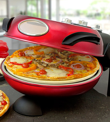 Review of Smart SSPM3000 Rotating Stone Baked Pizza Maker