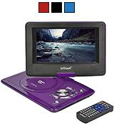 ieGeek 12,5 Portable DVD Player with Swivel Screen