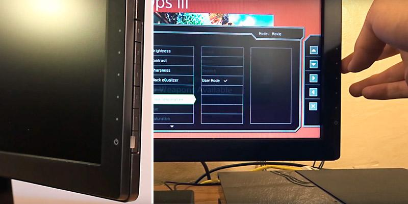 BenQ/Zowie RL2455 Gaming Monitor in the use