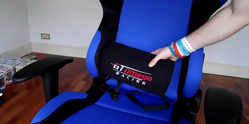 GT Omega Pro Racing Gaming Chair in the use