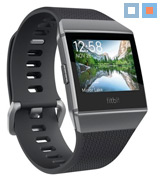Fitbit FB503GYBK-EU Unisex Ionic Health and Fitness Smartwatch