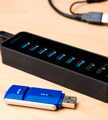 Review of Anker 7-Port + 3 Charging USB Hub