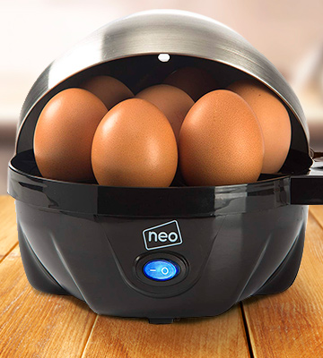 Review of Neo 3 in 1 Durable Stainless Steel Electric Egg Cooker, Boiler, Poacher & Omelette Maker