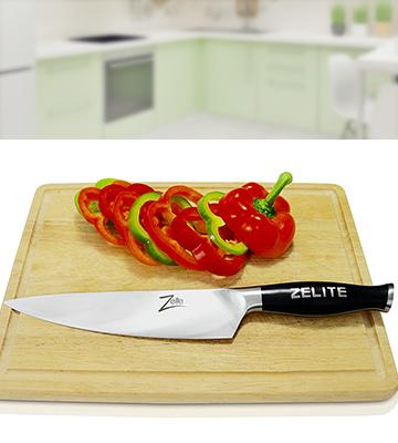 Review of Zelite Infinity German Steel Chef Knife