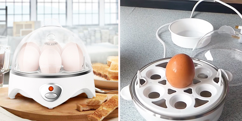 Review of SimpleTaste 3 in 1 Clear cover Egg Cooker