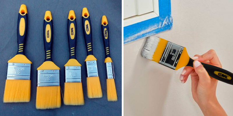 Review of Coral 31416 Zero Set of 3 Paint Brushes