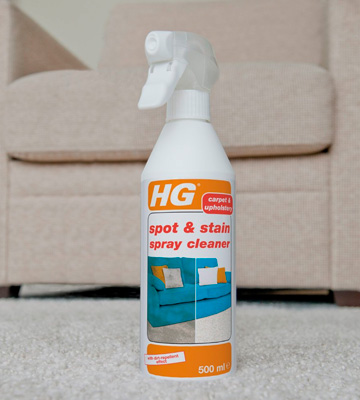 Review of HG Spot & Stain Spray Cleaner Removes Stains on Carpets and Sofas