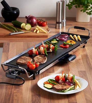 Review of VonShef Electric XL Teppanyaki Style Barbecue Table Grill Griddle