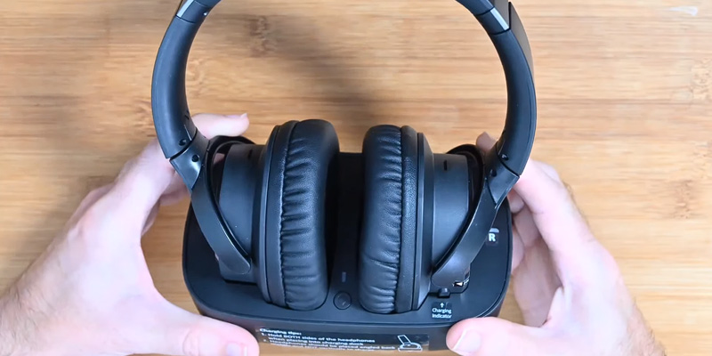 Avantree (BTHT-5150) Bluetooth 5.0 Wireless Headphones for TV in the use