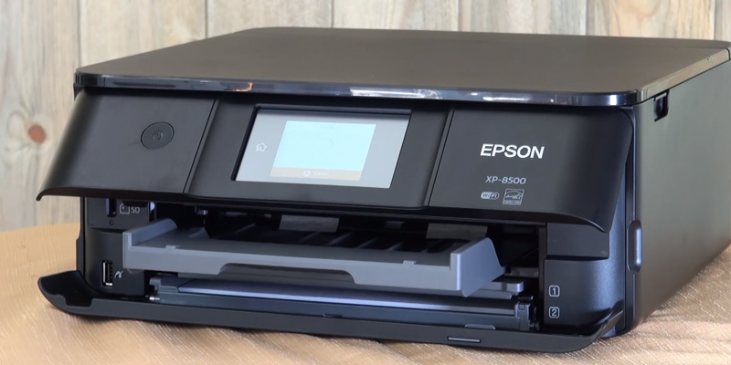 Epson XP 8500 (C11CG17401) Wi-Fi Photo Printer, Scan and Copy with CD/DVD printing in the use