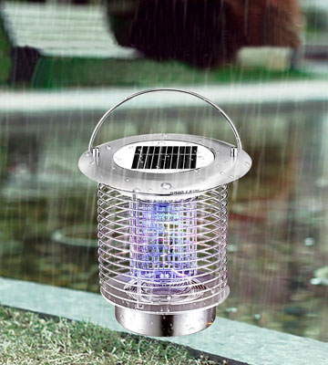 Review of GutReise Solar Bug Zapper