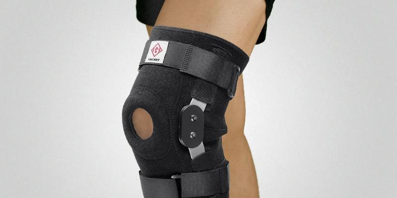 Review of Gallant Neoprene Hinged Knee Brace Patella Support