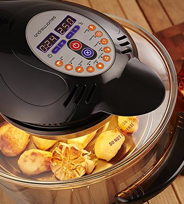 Review of Andrew James AJ-686GD Digital Halogen Oven