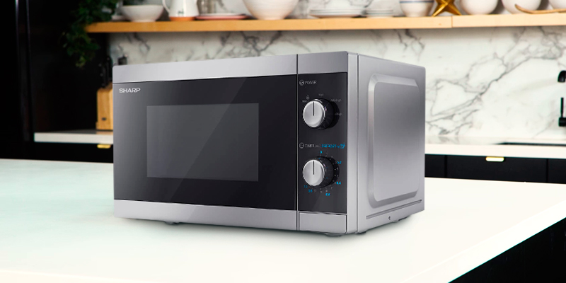 Review of Sharp YC-MS01U-S Solo Microwave Oven