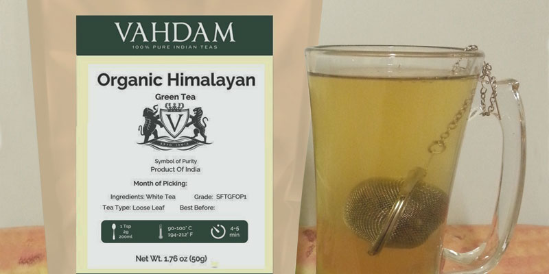Review of Vahdam Teas Himalayan Detox Tea