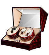 JQueen W004 Automatic Wood Watch Winder storages box