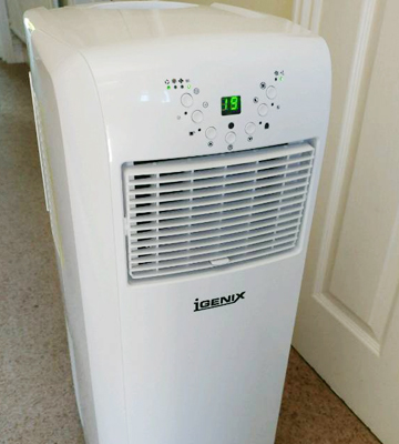 Review of Igenix IG9902 3-in-1 Portable Air Conditioner with Heating Function, 9000 BTU
