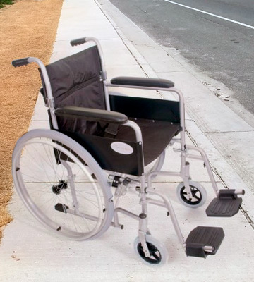 Review of Angel Mobility AMW001S Lightweight Folding Wheelchair