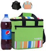 MIER 15L Large Insulated Lunch Bag Picnic Cool