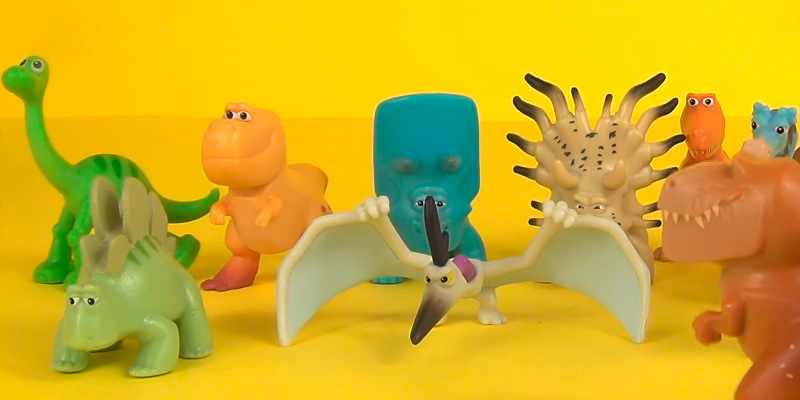 Review of Disney World Action Figures The Good Dinosaur
