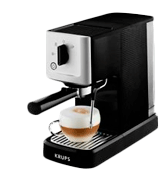KRUPS XP344040 Calvi Manual Espresso Steam and Pump Coffee Machine